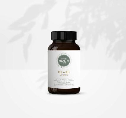 CONCEPT HEALTH STORE Vitamin D3 + K2