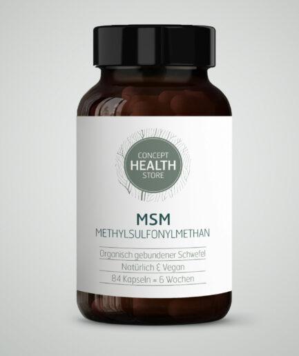 CONCEPT HEALTH STORE MSM