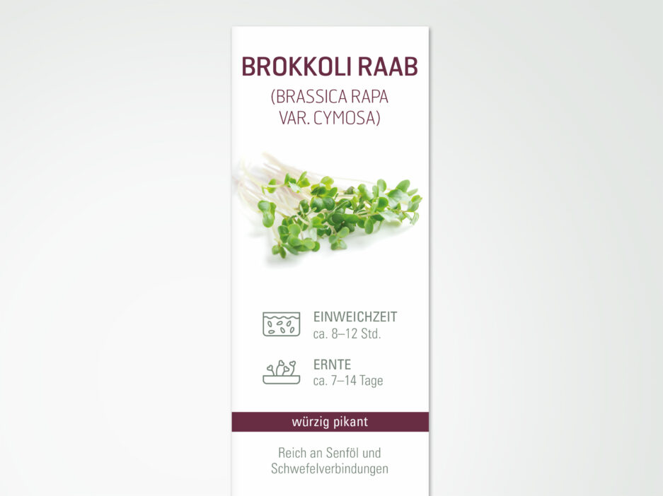 CHS Keimsaat Brokkoli Raab