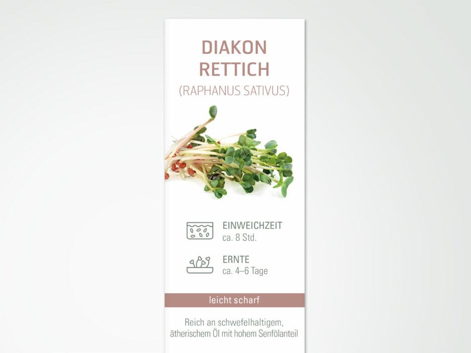CHS Samen Daikon Rettich