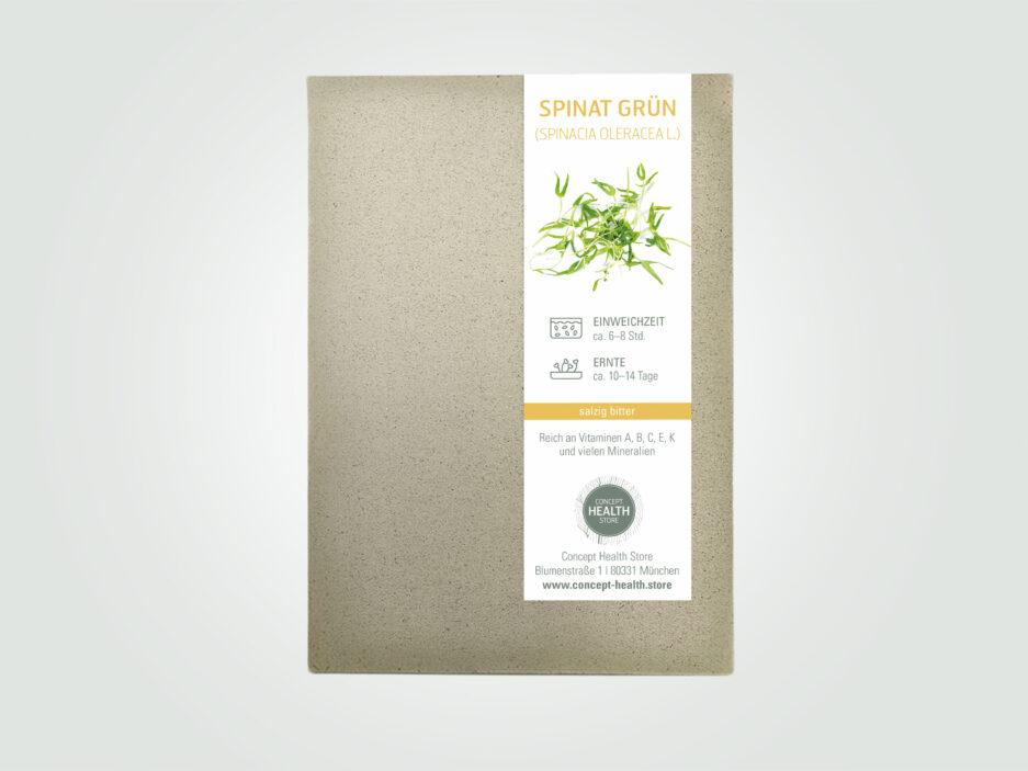 CHS Keimsaat Spinat Grün