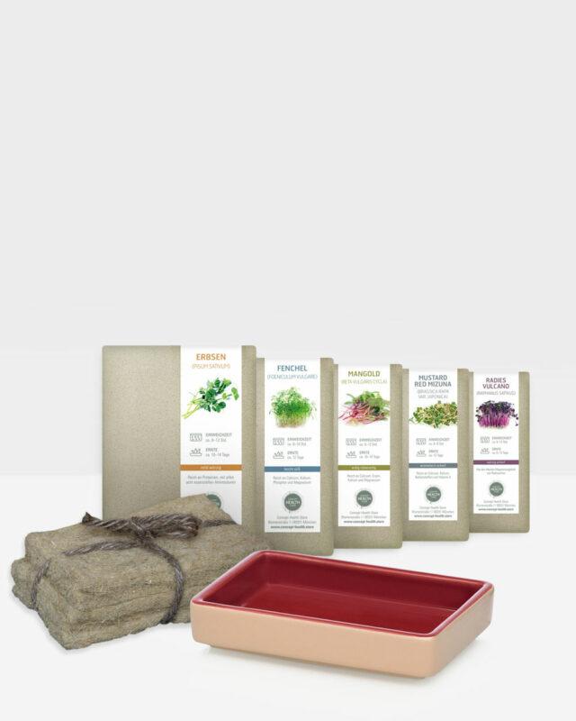 CONCEPT HEALTH STORE Microgreens Frühlingssets